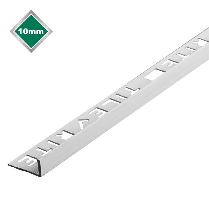10mm White Pvc L Shape Tile Trim - FTE560