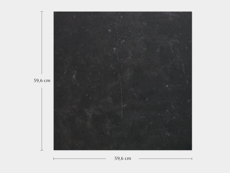 £89.71 /sqm - Magma Black - 59.6x59.6cm - Matt Floor Tiles