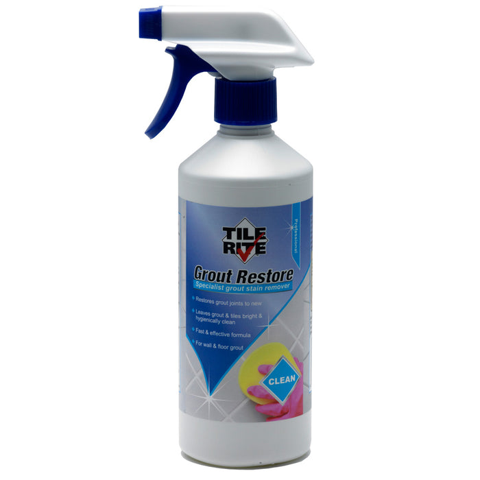 Grout Restore 500ML Spray Bottle - GRE031