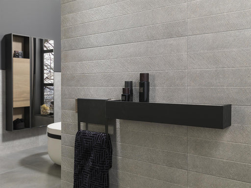 Porcelanosa Spiga Bottega Acero - Feature Wall Tile
