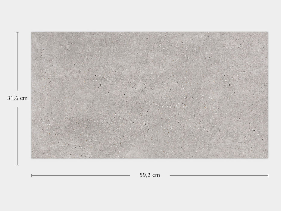 Porcelanosa Bottega Acero - 31.6x59.2cm Wall Tile
