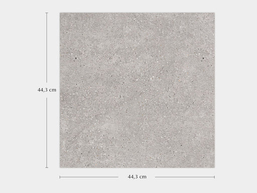 Porcelanosa Bottega Acero - 44.3x44.3cm Wall & Floor Tile
