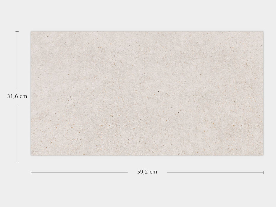 Porcelanosa Bottega Caliza - 31.6x59.2cm Wall Tile