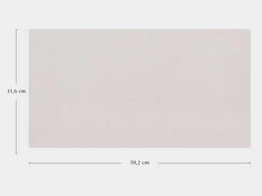 Porcelanosa Bottega White - 31.6x59.2cm Wall Tile