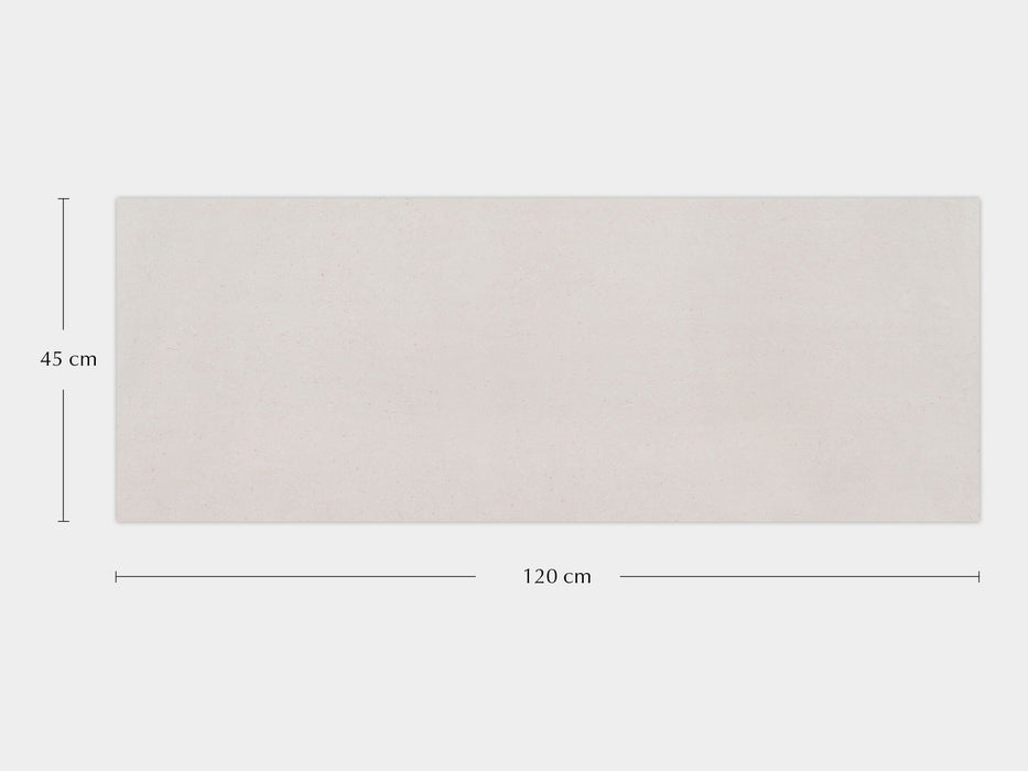 £74.94 /sqm - Porcelanosa Bottega White - 45x120cm Wall Tile