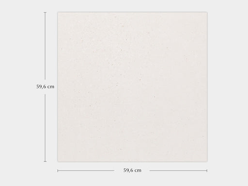 Porcelanosa Bottega White - 59.6x59.6cm Wall & Floor Tile