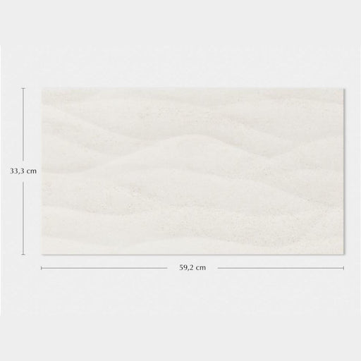 Porcelanosa Ona Blanco - 33.3x59.2cm - Wall Tiles
