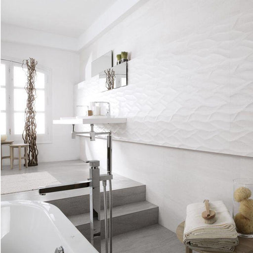 Porcelanosa Ona Blanco - 33.3x100cm - Wall Tiles