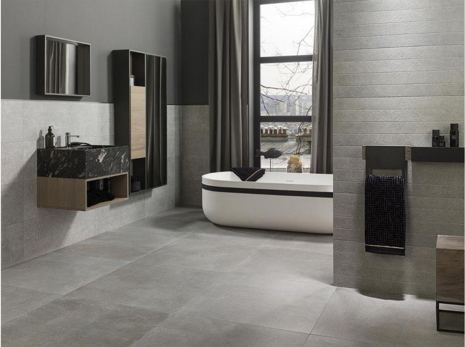Porcelanosa Bottega Acero Wall Tile