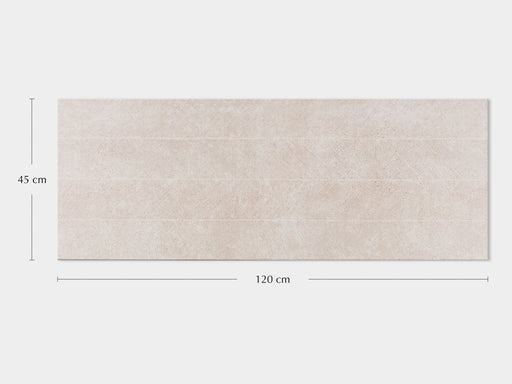 Porcelanosa Spiga Bottega Caliza - 45x120cm Feature Wall Tile