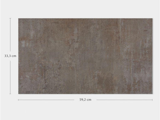 Porcelanosa Ruggine Aluminio - 33.3x59.2cm Wall Tile