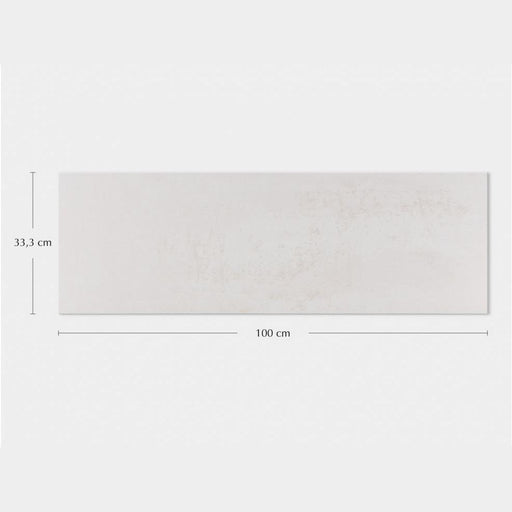 Porcelanosa Ruggine Platino - 33.3x100cm Wall Tile