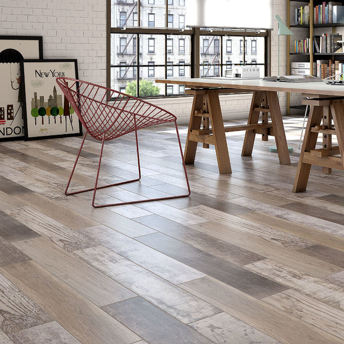 Simba Tile Range - Contemporary Wood effect - 15cm x 90cm