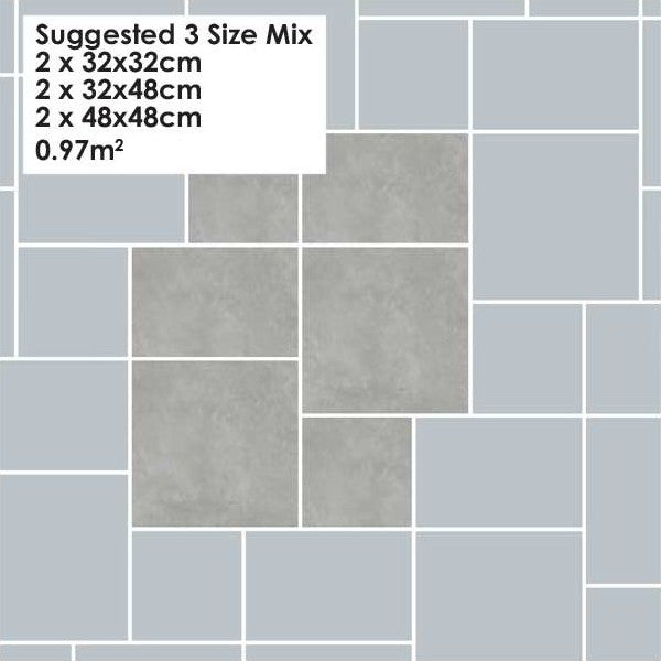 Flagstone Tiles - Indoor/Outdoor - Various Modular Sizes