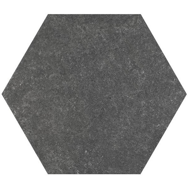 Hexagon Tiles - Patterned & Pain Stone Effect - 25cm