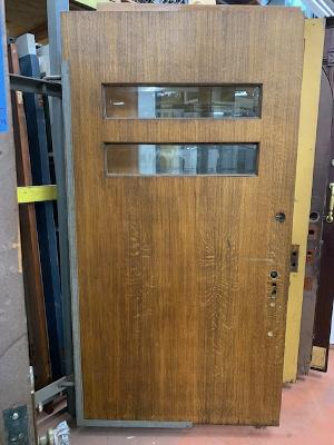 Arts & Crafts Door with Beveled Glass [SEP20-7]