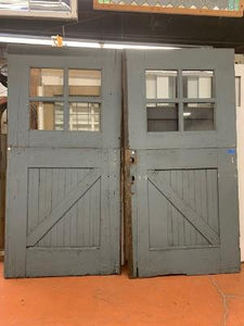 "Pair of ""Dutch"" Barn Doors (OCT20-20)"