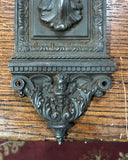 "Elaborate ""Yale & Towne""  Cast Iron Thumblever Set With Lock [mar19-3]"