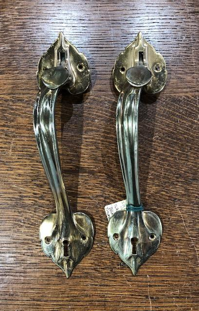 Cast Brass Art-Nouveau Thumblevers [TL-90]