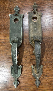 Cast Brass Tudor Revival Thumblever Sets [JUL19-27]
