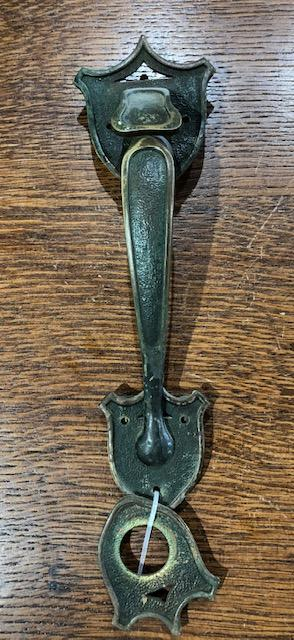Cast Brass Spanish/Tudor Revival Thumblever Set [jul19-31]