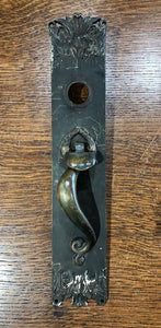 Cast Brass Art Nouveau Thumblever [jul19-36]