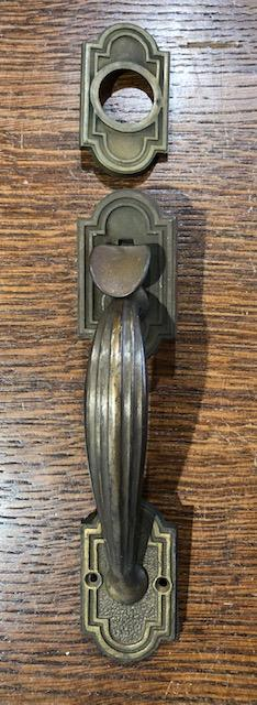Cast Brass Classical revival Thumblever [TL-209]