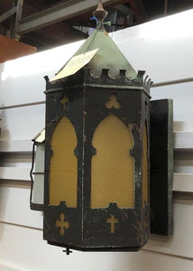 Large Spanish/Tudor Revival Porch Sconce [aug18-84]