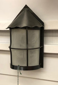 Spanish/Tudor Revival Porch Sconce [JUL19-71]