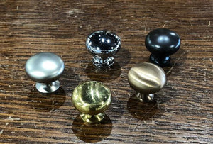 Small Reproduction Brass Cabinet Knobs