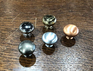 Medium Reproduction Brass Knobs