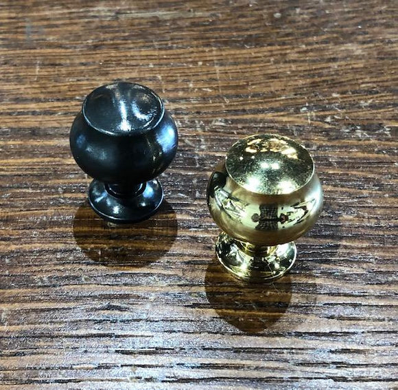 Small Reproduction brass Urn Shaped Knobs