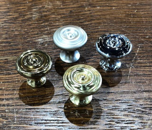 Small Reproduction Brass Raised Target Knobs