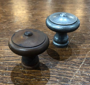 Large Reproduction Raised Center Knobs