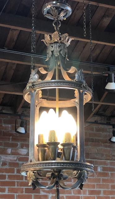 Mediterranean Revival 6 Light Fixture [SEP19-48]