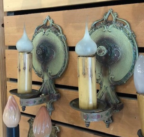Polychrome Storybook Sconces-Pair [OCT19-19]