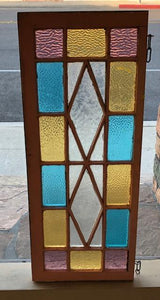 Multi Pane Art Glass Window [JL17-35]