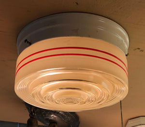 Deco Stripe Flush Mount [nov19-31]