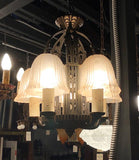 Art Deco Slip Shade Chandelier [PRNOV19-105]