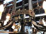 Romantic Revival Polychrome Chandelier [PRNOV19-38]