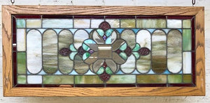 Stained Glass Transom [JAN20-43]