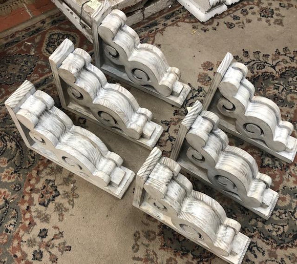 Reproduction Scroll Corbels-6 Available [FEB20-20]