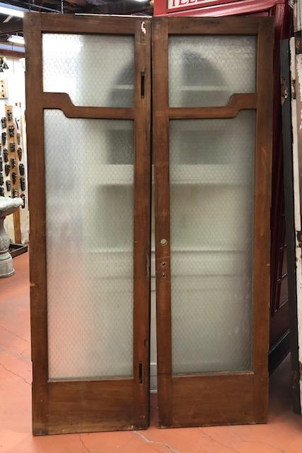 *SOLD*Greene & Greene Style French Doors-Pair [MAR19-1]
