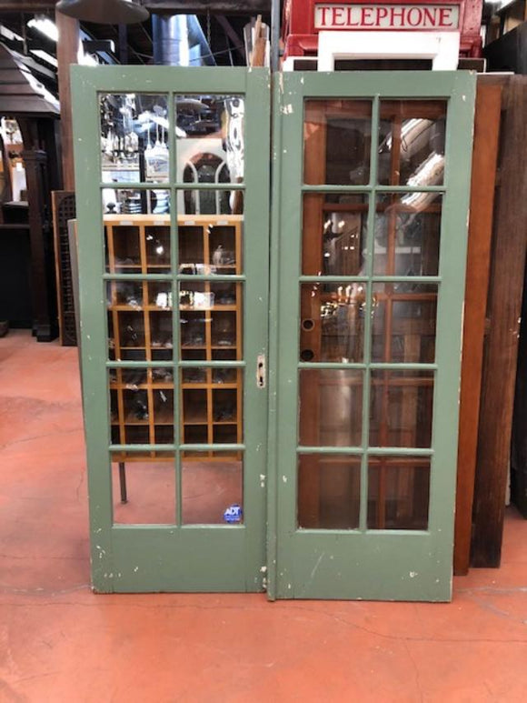 10 Light French Doors-Pair [MAR19-33]