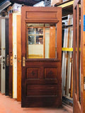 1 Light Entry Door w/Beveled Glass & Drip Ledge [PRKS-80]