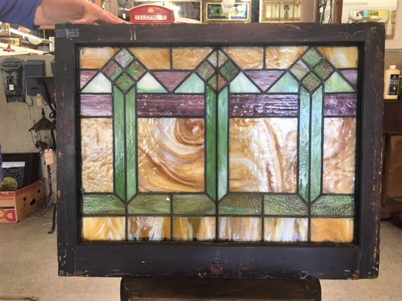 Arts & Crafts Stained Glass Window [JUL18-26]