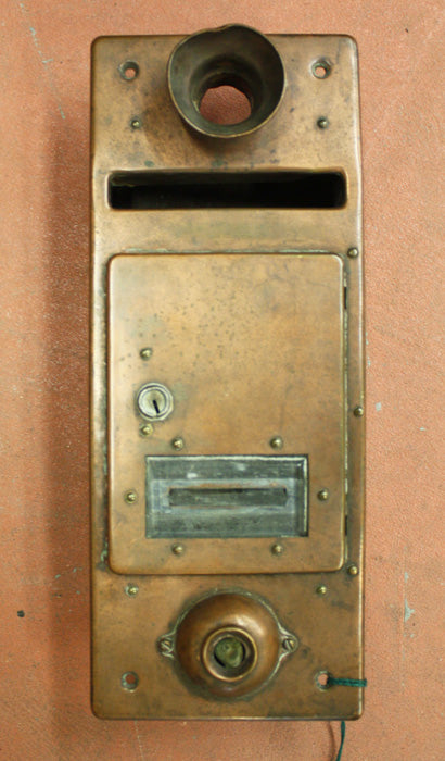1920's Apartment House Mailbox [DEC13-32]