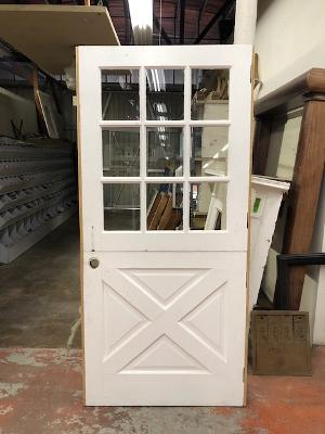 z***SOLD***z Dutch door with 9-light window [SEP20-2]