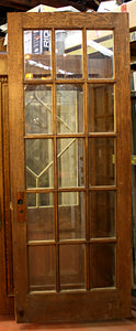 15 Light Solid Oak French Door [FEB11-56]
