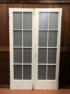 Sixteen-Light French Door Set (feb18-37)